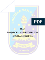 Proyecto Forjadores ambientales 2019