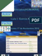 REDES SOCIALES...por Luis I. García Añazco