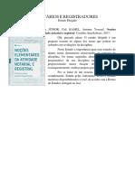 Estudo Dirigido - Notários e Registradores