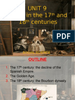 Unit 9 Spain in the 17th and 18th Centuries