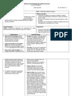 Formato de Planeacion de Clase de Educac