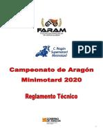 Minimotard Tecnico 2020