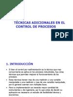 C09. TÉCNICAS ADICIONALES DE CONTROL