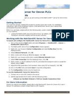 MatrikonOPC Server for Omron PLCs Quick Start.pdf