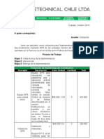 COTIZACION SLEP HUASCO GPS + CAMARA DE SEGURIDAD CON 5% DE DESCUENTO