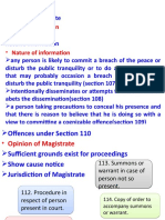 3. Preventive Concept in  Code of Criminal Procedure