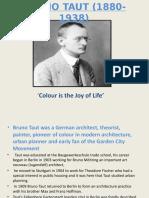 BRUNO TAUT (1880-1938)