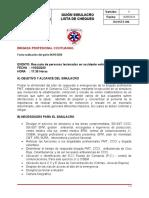 Guion simulacro rescate vehicular via Chiri. (1).doc