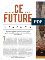 """""""Once and Future Visions:"""" Excitement builds as a planned expansion comes together at the Gilcrease Museum in Tulsa, Oklahoma."""