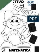 Capas Separadoras de Áreas Disciplinares (dossier) - 4º ano