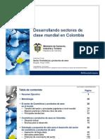 Informe Final - Sector Cosméticos