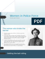 Wse Presentation-women in police force