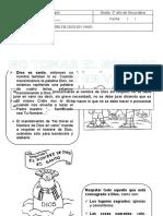 Tema 6 NO TOMARÁS EL NOMBRE DE DIOS EN VANO