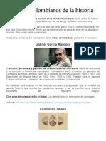 10 escritores colombianos de la historia