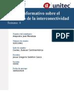 Boletín informativo sobre el fenómeno de la interconectividad