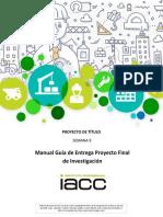Manual Guía Proyecto Final
