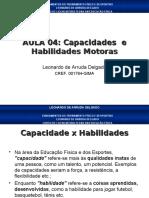 Aula06(CAPACIDADES E HABILIDADES MOTORAS).ppt