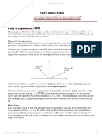 Complex Number Primer