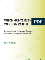 Witch Hunts Western World