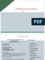 PPT BUSINESS LETTER 2