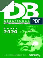 DESAFÍO BUÑUEL 2020