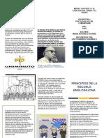 LA INFLUENCIA DE LA ESCUELA DEL PENSAMIENTO SOCIAL ANGLOSAJON