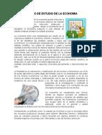 METODO DE ESTUDIO DE LA ECONOMIA