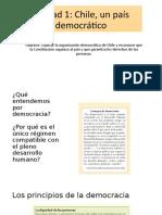 Unidad 1 Chile Pais Democratico 6 Basico