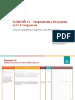 E-10 Emergencias 2020