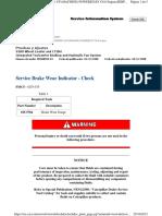 Service Brake Wear Indicator - Check_print_page