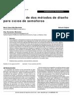 comparacion de dos metodos dediseño de ciclos semaforicos.pdf