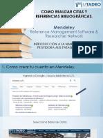 04. Tutorial de Mendeley - Como realizar citas bibliográficas