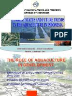 Current Status and Future Trends in Aquaculture -