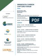 Minnesota Carbon Capture Forum