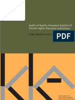Audits of Quality Assurance Systems_Anonim_2006