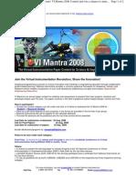VI Mantra Paper Contest