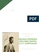 MARZO- 3er Grado 2020 Emiliano Zapata