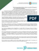 Educación Bonaerense Resolvió La Suspensión de Clases y Pone en Marcha El Programa de Continuidad Pedagógica.docx