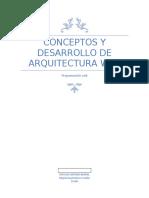 Conceptos y Desarrollo de Arquitectura Web