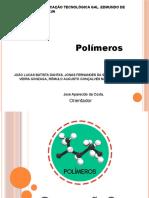 Apresentação polimeros