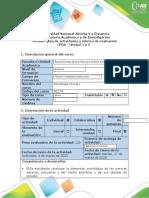 Guía de actividades y rúbrica de evaluación - Fase 5 - Prueba Objetiva Abierta (POA)