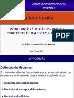 AULA 1 - RESULTANTE DE UM SISTEMA DE FORÇAS -UNIDADE I (1).pdf