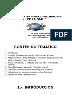 ACUERDO SOBRE VALORACION DE LA OMC