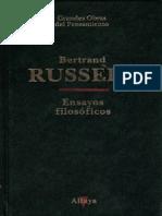 Ensayos filosóficos - Bertrand Russell.epub
