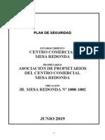 Plan de contingencia - Mesa redonda