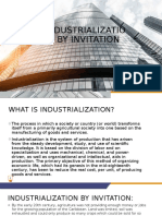 Industrialization by invitation powerpoint presentation