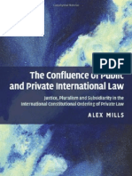 The Confluence of Pub & Private Int'l Law
