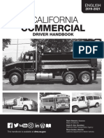 California Commercial Drivers Handbook