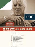 Digital Booklet - Troubador