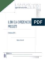 Bim e direzione dei progetti